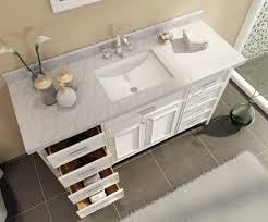 ace kensington 61 inch single sink bathroom vanity set