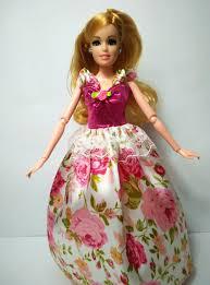 Barbie Princess Dress Design 2016 New A Princess Dress And Colorful Handmade Fashion