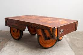 Bright Colored Coffee Tables Industrial Czech Colored Coffee Table 1950s For Sale At Pamono