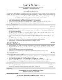 Industrial Mechanic Millwright Resume Sample Resume Objective For Maintenance Technician Bongdaao Com Industrial 23