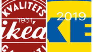 Ikea Logo Design Evolution Of Ikea Logo 1951 2019
