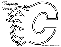 Small Picture Nhl Logo Coloring Pages Coloring Home Coloring Coloring Pages