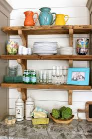 BlockStyle Wooden Shelves With Plenty Of Display Space  EVA Country Style Shelves