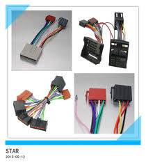 china car radio ford adapter iso wire harness connector for wiring ford wiring harness connector parts at Ford Wiring Harness Connectors