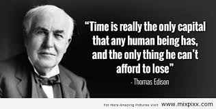 Thomas Edison Quotes Custom Famous Thomas Edison Quotes About Time Golfian