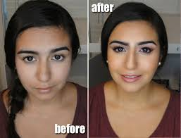 before and after makeup lesson natural pink makeover