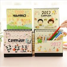 2018 cute animals desktop calendar creative diy daily scheduler table planner yearly agenda organizer 1688