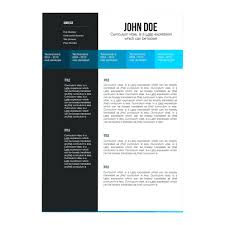 Template Ipad Pages Template 2 Page Resume Templates Free