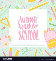 Welcome Card Templates Card Template With Welcome Back To School