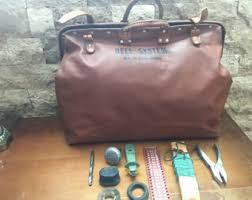 klein leather tool bag. vintage 1950\u0027s bell system repairman\u0027s tool bag mfg klein-buhrke and tools klein leather