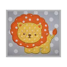 Animal Applique Designs Baby Animals Lion Applique Design