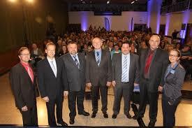 Foto:von Redakteur Malte Glotz. Bild 1 von 3 aus Beitrag: Die 5 Bürgermeisterkandidaten für Hatzfeld standen Rede und Antwort im Hatzfelder Bürgerhaus - 2352730_web