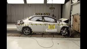 2015-2016 Toyota Corolla NHTSA Frontal Impact - YouTube