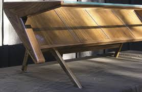 Modern Coffee Tables For Sale Mid Century Modern Coffee Table With Glass Top Solid Wood Black