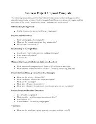 Business Project Proposal Format Best Photos Of Sample Of Business Project Proposal Business 7