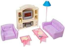 Barbie dollhouse furniture sets Bedroom Amazoncom My Fancy Life 24012 Dollhouse Furniture Living Room With Tvdvd Set And Show Case Play Set Toys Games Amazoncom Amazoncom My Fancy Life 24012 Dollhouse Furniture Living Room