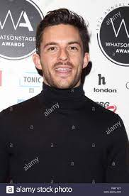 Jonathan Bailey an der Whatsonstage Awards 2019 im Prince of Wales Theatre  Stockfotografie - Alamy
