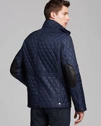 Burberry Brit men's dark navy russell quilted jacket size s,m,l,xl ... & Image is loading Burberry-Brit-men-039-s-dark-navy-russell- Adamdwight.com