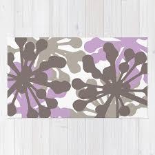 purple fl rug roselawnlutheran purple flower area rug