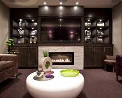 basement designers. Photo Of A Transitional Fully Buried Basement In Calgary With Grey Walls, Carpet, Designers
