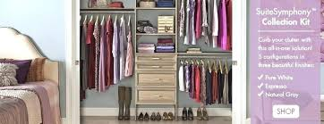 closetmaid closet kits et shelving