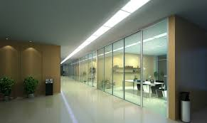 office hallway. Wonderful Office Area Hallway Ceiling Design With Wide Glass Window Ideas