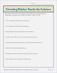 Editing Practice Worksheets – careless.me