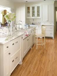 White kitchen light wood floor Solid White White Kitchens With Light Wood Floors Wallpapers Home Kitchen Oak Floor Cabinets Quicua Off Designs Ideas 911 Save Beans Image 4828 From Post White Kitchen Oak Floor With All Kitchens