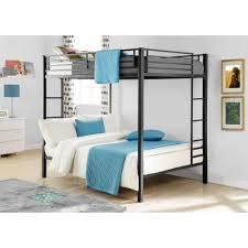 Dorel Full Over Full Metal Bunk Bed, Multiple Finishes - Walmart.com