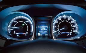 2015 Toyota Avalon Hybrid instrument panel - Indian Autos blog