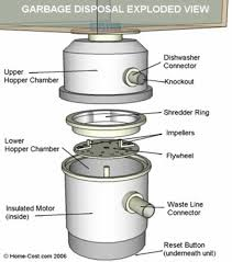 how to fix clogged garbage disposal handyman tips