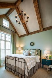 glamorous wrought iron bed frames in bedroom farmhouse with agreeable gray next to iron bed alongside master bedroom ideas and lp smartside agreeable vaulted ceilings