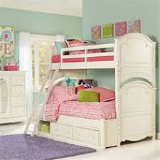 girls white bunk beds. Contemporary Beds Legacy Classic Kids Charlotte Twin Over Full Bunk Bed With Underbed Storage  In Antique White To Girls Beds