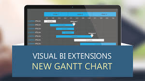Visual Bi Extensions New Gantt Chart By Visual Bi Solutions
