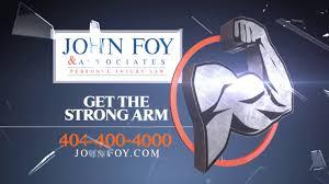 Atlanta Personal Injury Law Firm - John Foy And Associates - YouTube