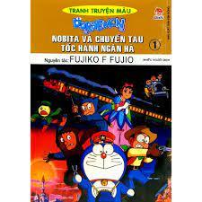 Sách - Doraemon Tranh Truyện Màu - Nobita Và Chuyến Tàu Tốc Hành Ngân Hà -  Tập 1 (Tái Bản 2019)
