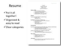 What To Put On A Resume Work