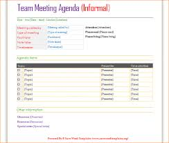 agenda template for word 4 meeting agenda template word outline templates