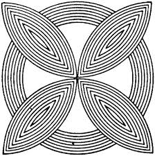 Small Picture Geometric Coloring Pages 18 Coloring Kids