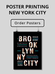 Let's dive into the subject. Custom Poster Printing Nyc Large Format Printing New York City