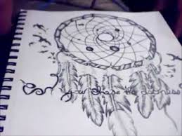 How To Draw A Dream Catcher Drawing a dream catcher YouTube 47