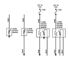 4 wire o2 sensor wiring diagram gooddy org 4 wire sensor color code at 4 Wire Sensor Diagram