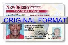 Drivers Picture - No New Jersey Recxilus License