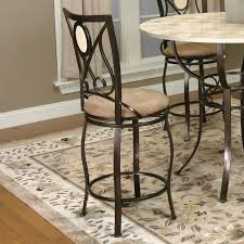 Wrought Iron Color Decorating Mesmerizing Hillsdale Furntiure In Beige Cushion Seat