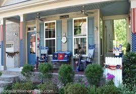 front porch furniture ideas. 4th of july front porch decorating ideas on hoosierhomemadecom furniture