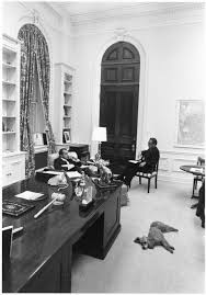nixon office. President Nixon Meeting With Then National Security Advisor Henry Kissinger While Vicki The Poodle Relaxes On Floor Of President\u0027s Office In S
