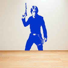 movie star wall art img star wars luke skywalker vinyl wall art decal sticker room decal sci f