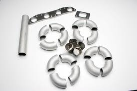 ramhorn topmount style diy turbo manifold kit 4 cylinder fabrication parts autotech motoring