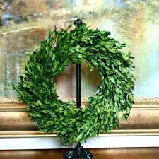 outdoor boxwood wreath preserved garden 1 faux square outdo