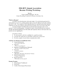 Example Of A Resume With No Work Experience Resume For High School